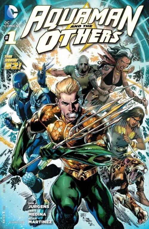 Portada de Aquaman & The Others #1, obra de Ivan Reis