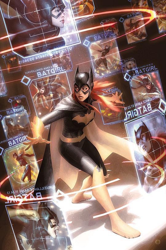 Portada del Batgirl #32 por Alex Garner
