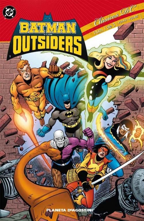Portada del número 1 de la colección Clasicos DC de Planeta DeAgostini