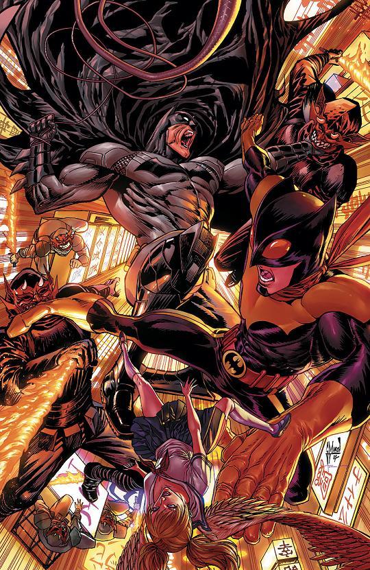 Portada del Batman: Eternal #9 por Guillem March