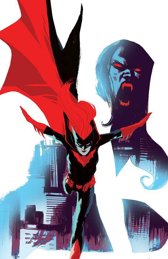 Portada del Batwoman #32 por Rafael Albuquerque