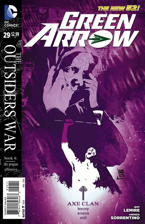 Portada Green Arrow #29