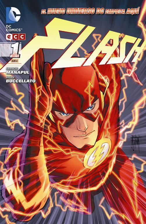 Portada del Flash número 1 de ECC