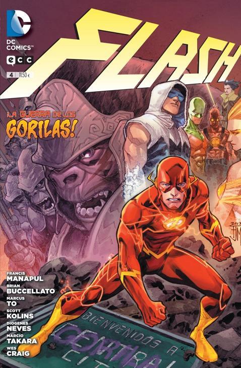 Portada del Flash número 4 de ECC
