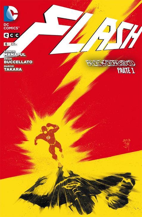 Portada del Flash número 6 de ECC