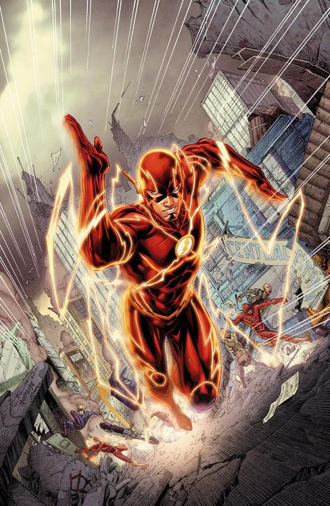 Portada del The Flash #30 por Breth Booth