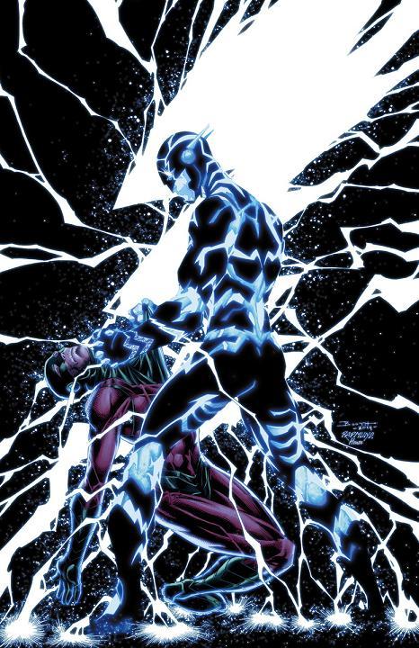 Portada del The Flash #32 por Breth Booth