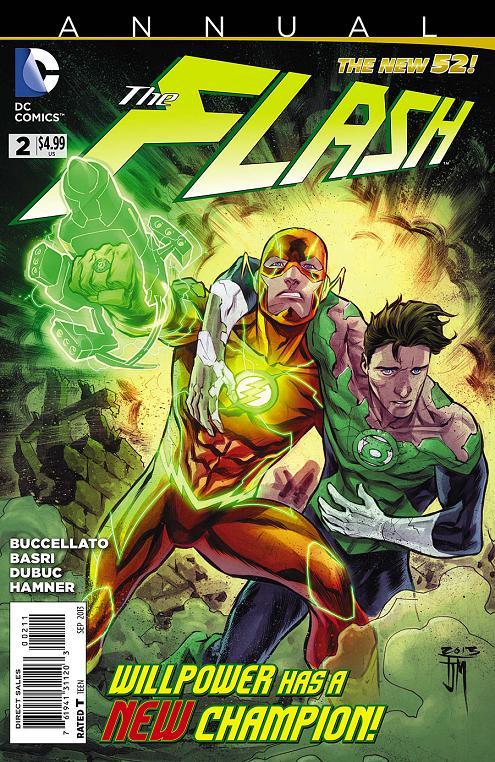 Portada USA del The Flash Annual #2