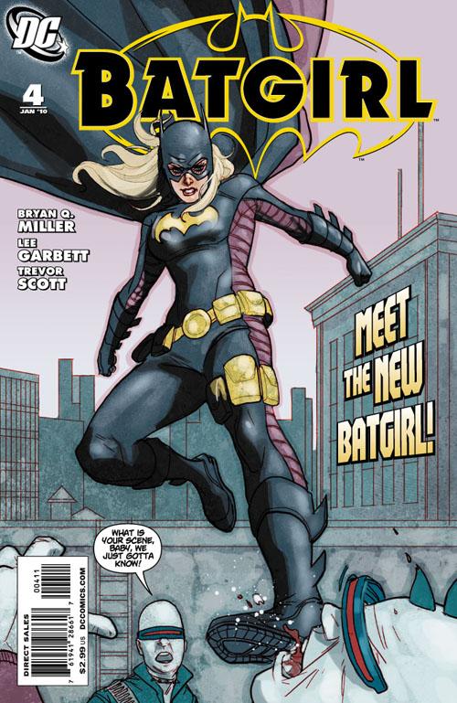 Portada de Batgirl #4, donde Bryan Q Miller presentó a Stephanie bajo el manto