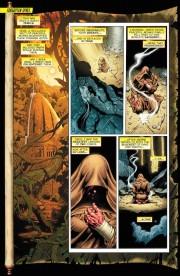 Primeras páginas de Sinestro #1, por Dale Eaglesham