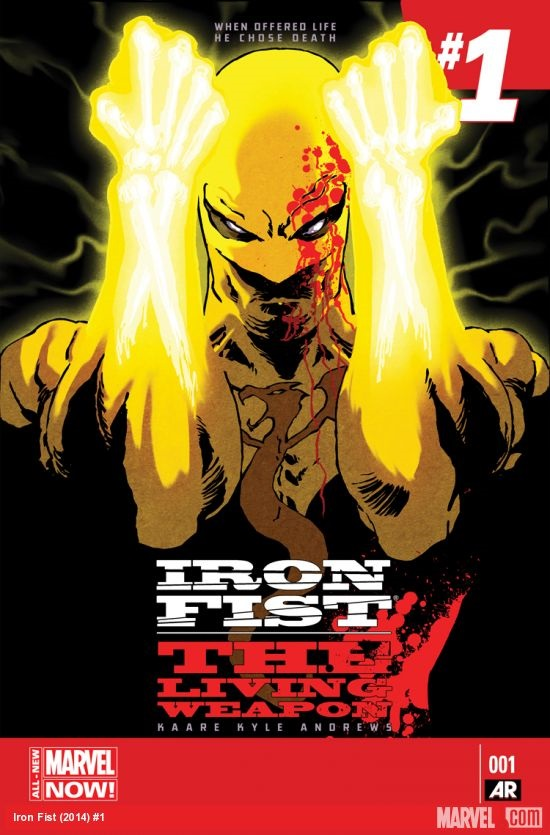Iron Fist: the living weapon Portada 1