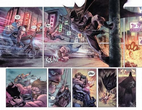Interiores de Detective Comics #30, obra de Francis Manapul y Brian Buccellato