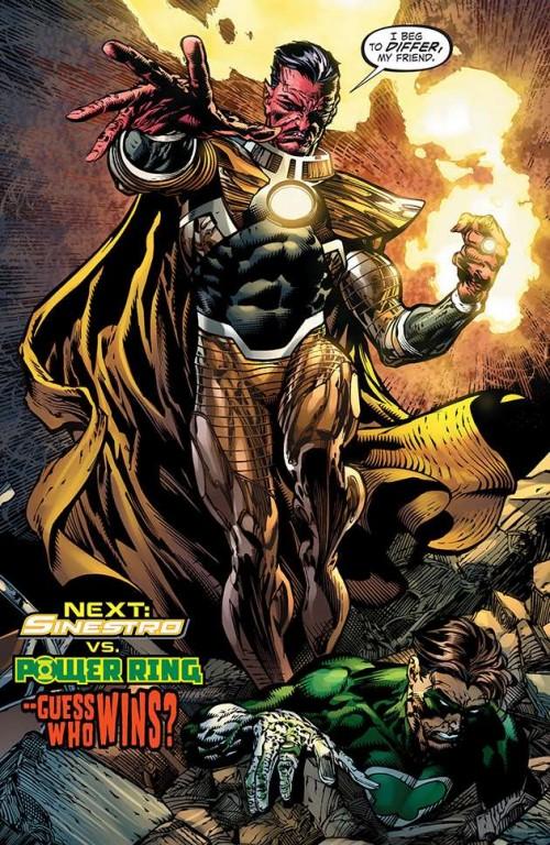 """Sinestro luchará junto a la """"resistencia"""" en Forever Evil"""