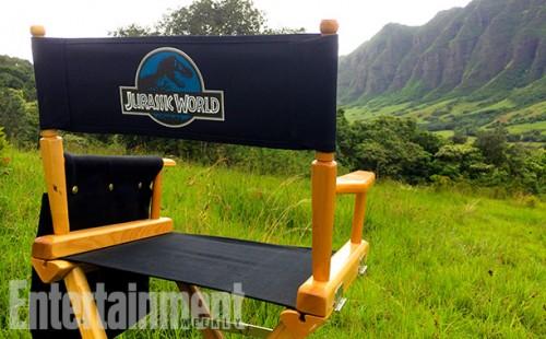 Primer día de rodaje de Jurassic World...