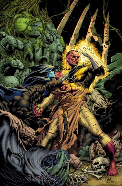Portada de Sinestro #1, obra de Dale Eaglesham