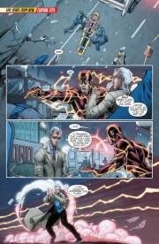 Páginas interiores de The Flash #30, por Brett Booth