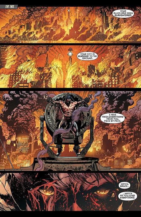 Primera página del Batman: Eternal #1 por Jason Fabok