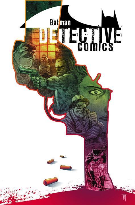 Portada del Detective Comics #33 por Francis Manapul