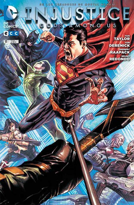 Portada del Injustice: Gods Among Us #11