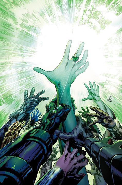 Portada del Justice League #33 por Ivan Reis