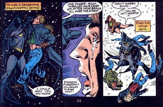 Un Batman al límite con los poderes del Hombre de Acero