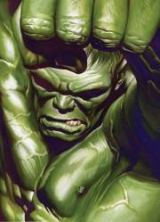 Portada alternativa de Alex Ross para el quinto número de Hulk