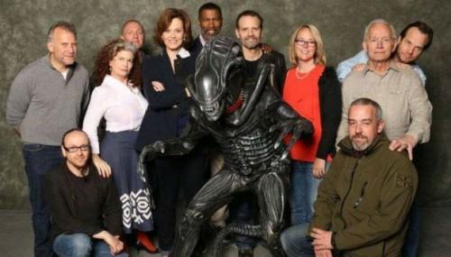 El reparto de Aliens, 28 años después