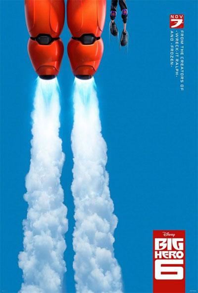 Poster de Big Hero 6