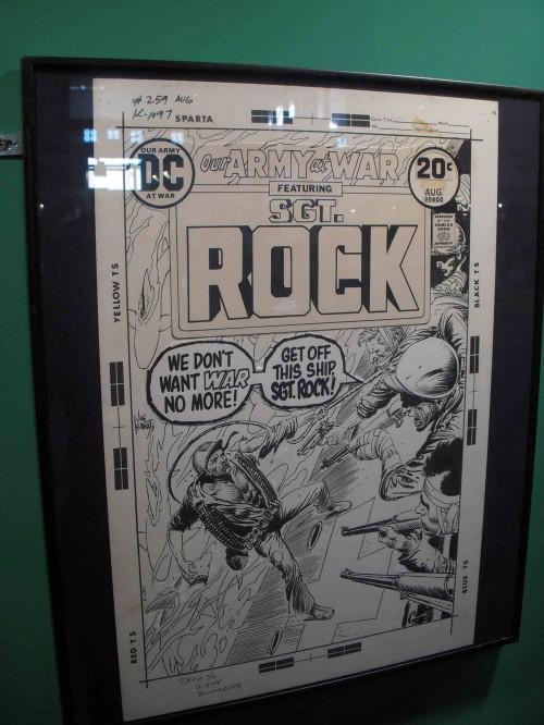 El Sargento Rock contra ¿pacifistas?