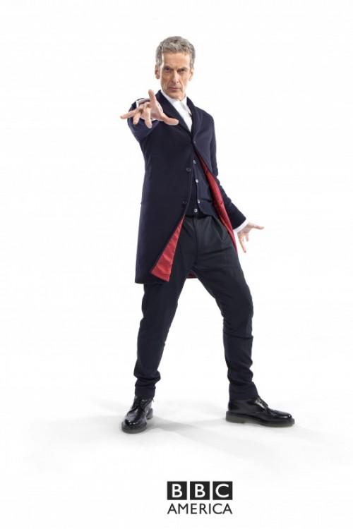 Queda poco para ver a Peter Capaldi como el nuevo Doctor Who