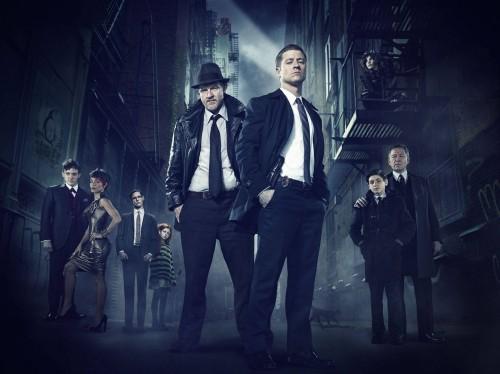 El reparto de Gotham, pero si miramos más de cerca...