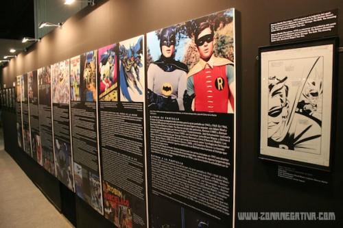 Exposición Batman en el Salón del cómic BCN 2014