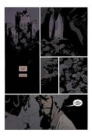 Hellboy visita el lugar de su nacimiento
