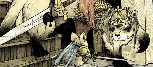Detalle de la portada del tercer número de Hacha Negra