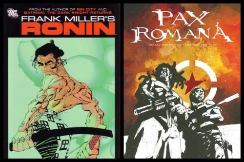 Portadas de Ronin y Pax Romana