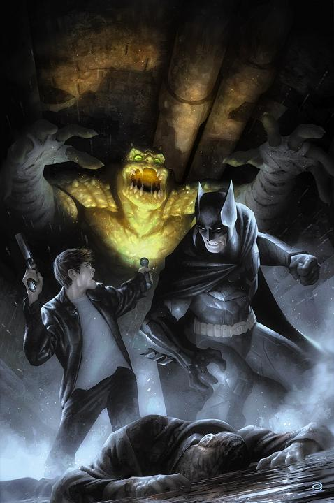 Portada del Batman Eternal #18 por Alex Garner