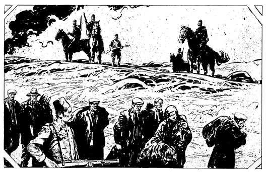 Las magníficas ilustraciones de Clavé imprimen su propio ritmo de lectura
