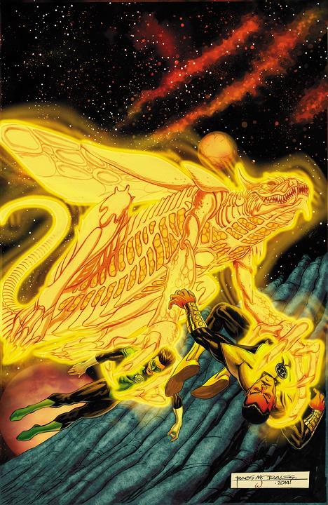 Portada del Sinestro #5 por Rags Morales
