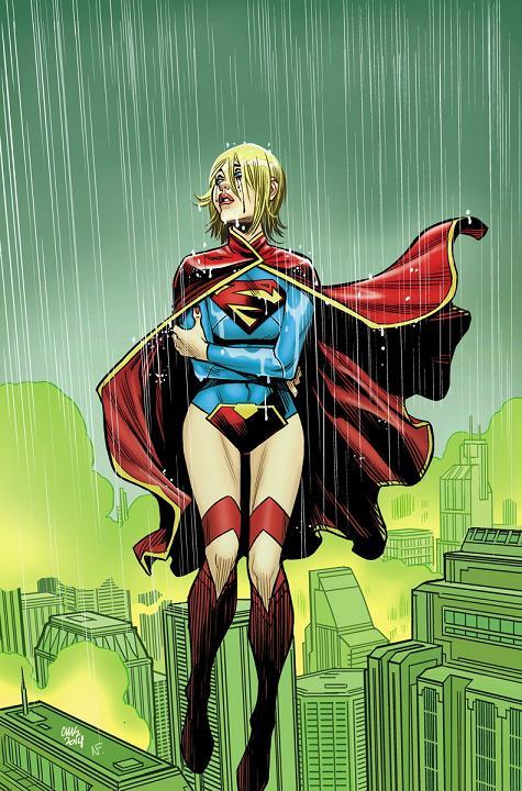 Portada del Supergirl #34 por Cameron Stewart