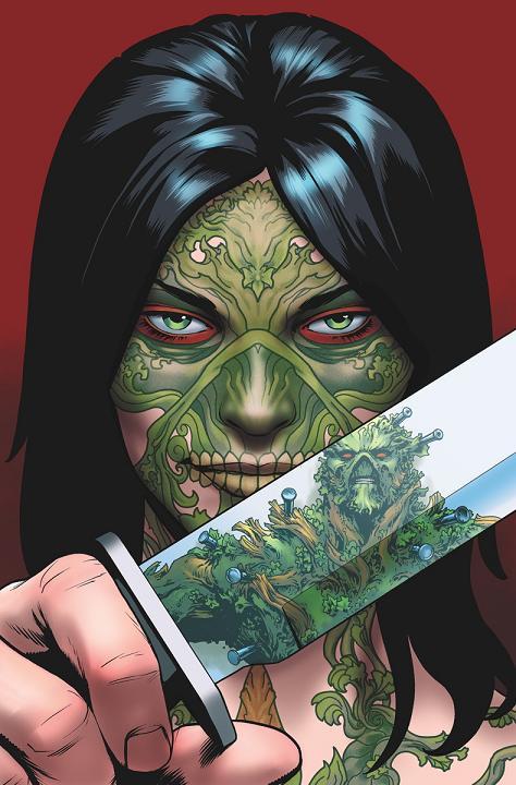 Portada del Swamp Thing #34 por Jesús Saiz