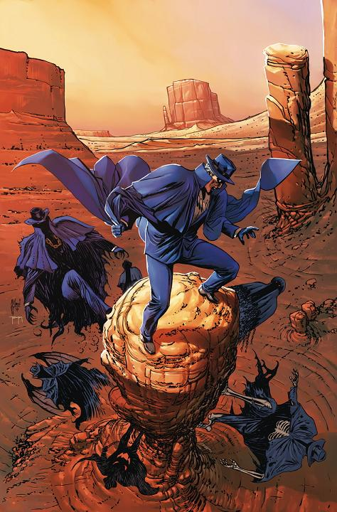 Portada del ToS: Phantom Stranger #34 por Guillem March