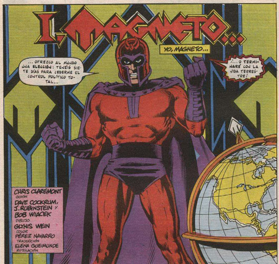 Magneto, más temible que nunca, amenaza a las potencias de la Tierra