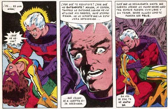 Con el ataque a Kitty, Magneto se da cuenta de que se ha convertido en aquello que odia