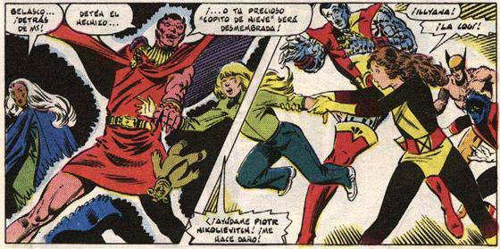 La hermana de Coloso es raptada por Belasco y aprende magia en el Limbo