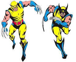 Lobezno, como lo diseñó John Romita Sr. y como lo modificó Gil Kane en la portada de Giant Size X-Men