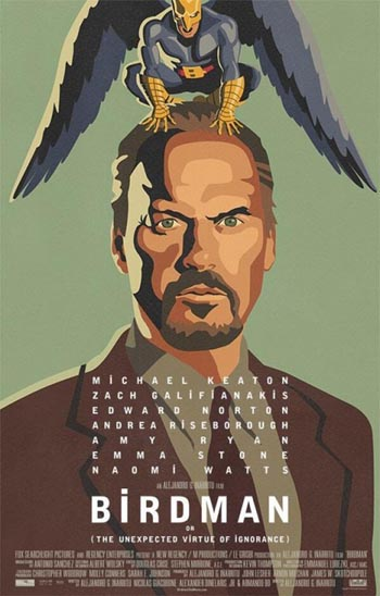 Tremendo poster de Birdman