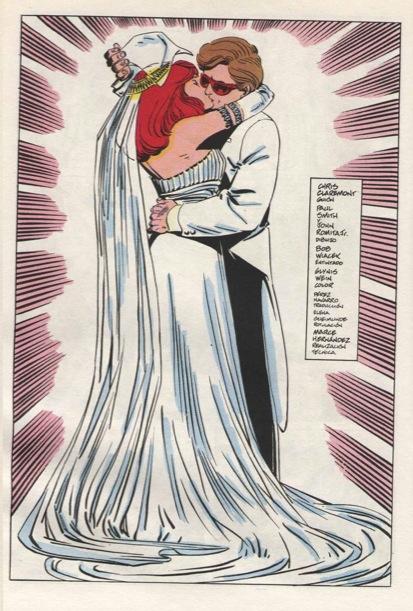 Resulta que para Chris Claremont el Principio era una boda