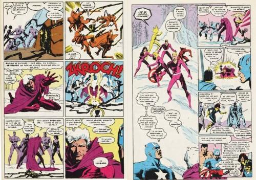 Los lectores de Nuevos Mutantes serían testigos de la reconversión de Magneto