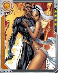 Ororo y T'Challa. Todo empezó en África