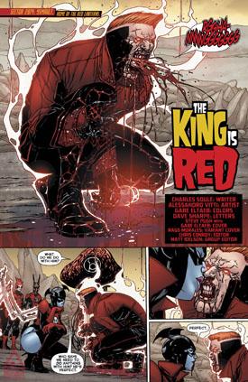 El sacrificio del Rojo.